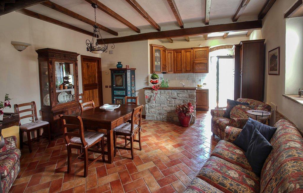 Appartamento per disabili - dettaglio soggiorno Melograno - Agriturismo Trebbiolo