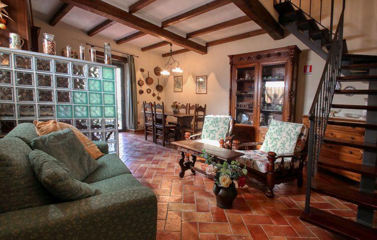 Agriturismo per famiglie in Toscana - dettaglio appartamento Tulipano - Trebbiolo