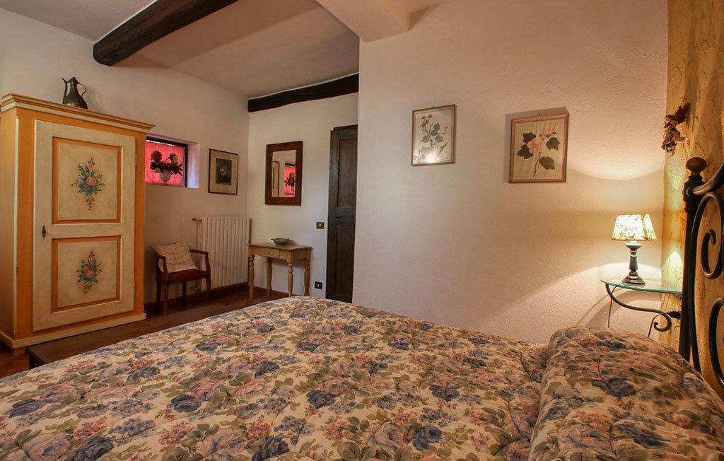 Camera matrimoniale appartamento Serena - Agriturismo Trebbiolo Toscana