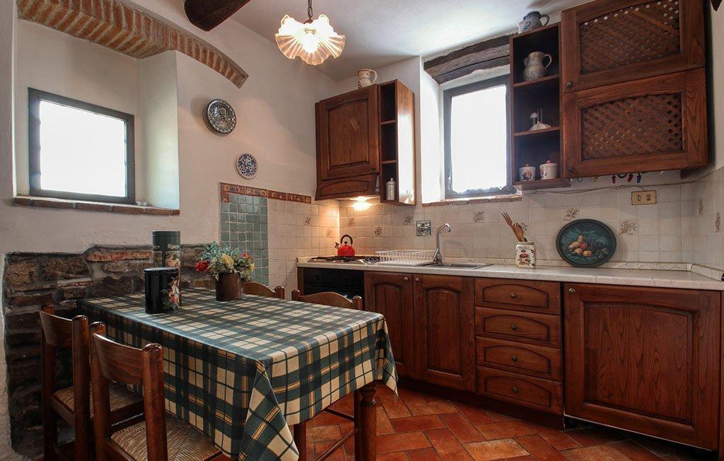 Dettaglio cucina appartamento Serena - Agriturismo Trebbiolo Toscana