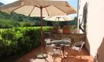 Giardino appartamento Tulipano - Agriturismo Trebbiolo Toscana