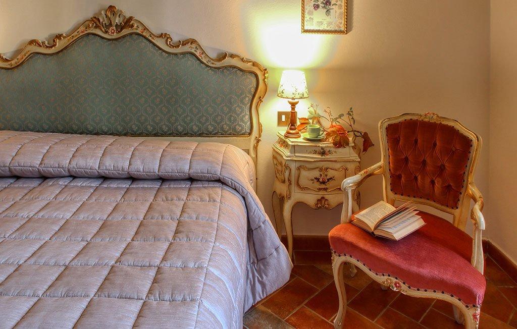 Seconda camera matrimoniale dell'appartamento vacanze il Girasole - Agriturismo Trebbiolo - Toscana